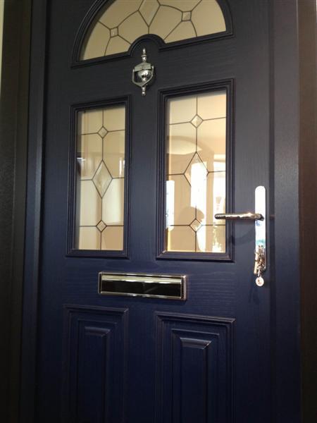 Composite Door Navy